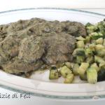 Bistecche di soia-zucchinose