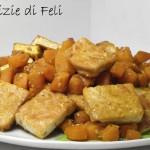 Tofu saltato con zucca