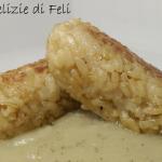 Crocchette di riso in crema