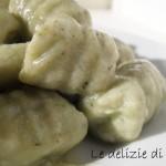 Gnocchi di tofu e zucchine