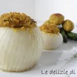 Cipolle ripiene di quinoa e asparagi