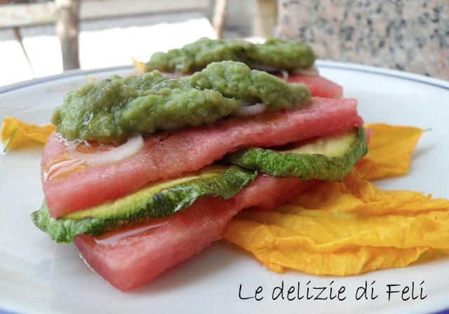 sandwich d'anguria