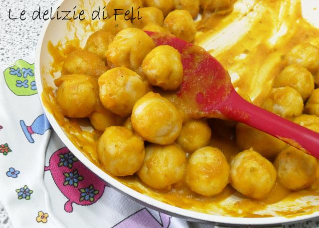 gnocchi di tofu ripieni