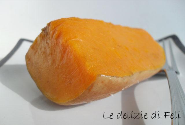zucca butternut al cartoccio