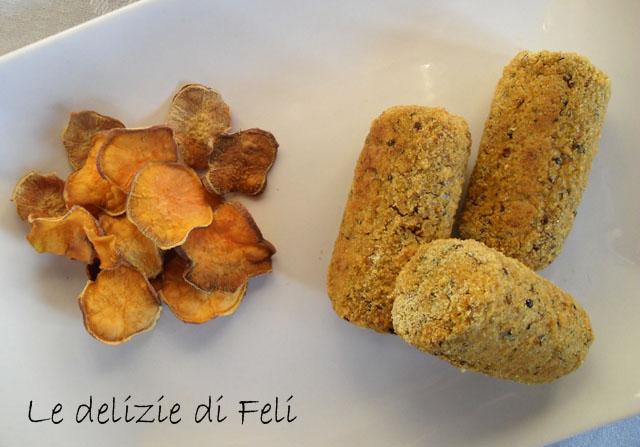 crocchette di batata e quinoa