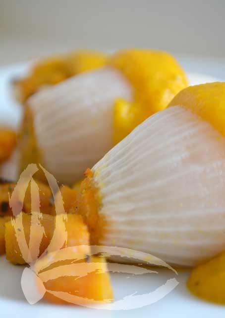 petali di cipolla ripieni