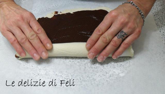 Tronchetto Di Natale Vegano.Le Delizie Di Feli Blog Archive Tronchetto Di Natale Vegan Le