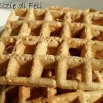 Vegan Waffel gluten-free