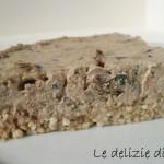 Tofu cake mediterranea