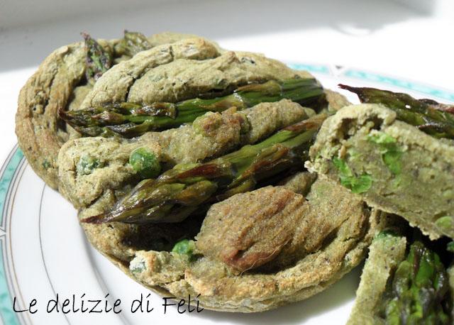 Tortini di asparagi