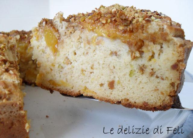 torta di pesche gluten free