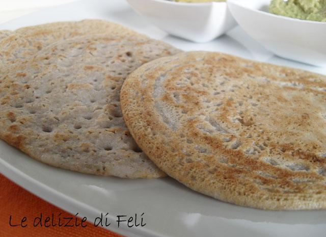 crespelle di grano saraceno fermentato