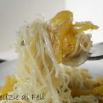 Zucca spaghetti e zucca stripetti