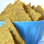 Raw-crackers di zucca