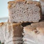 Focaccia di castagne senza glutine
