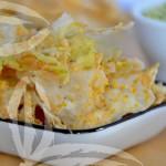 Chips di cavolo rapa e sale di sedano