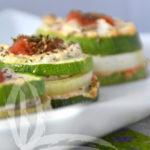 Millefoglie di zucchine