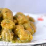 Gnocchi di batata e zucchine
