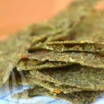 Raw-crackers di broccoli