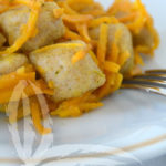 Gnocchi di carote con pasta madre