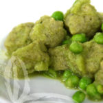 Gnocchi di broccoli e piselli