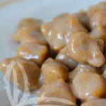 Gnocchi di zucca e castagne