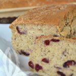 Plumcake senza glutine con friggitrice ad aria