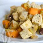 Tofu al profumo d'estate