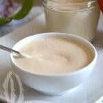 Crema di mandorle al cioccolato bianco vegan