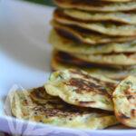 Pancake di ceci con zucchine